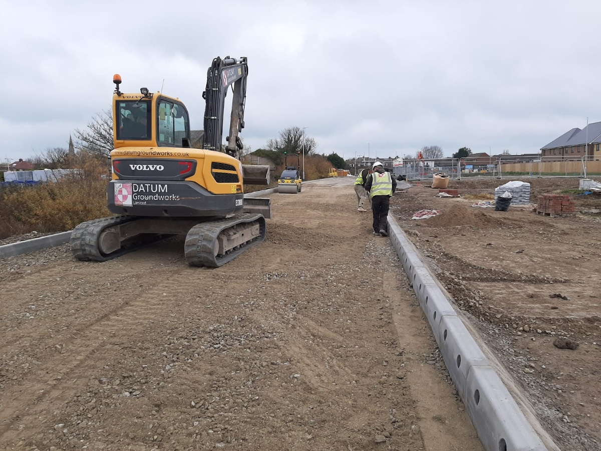 Datum Groundworks Digger in Deal