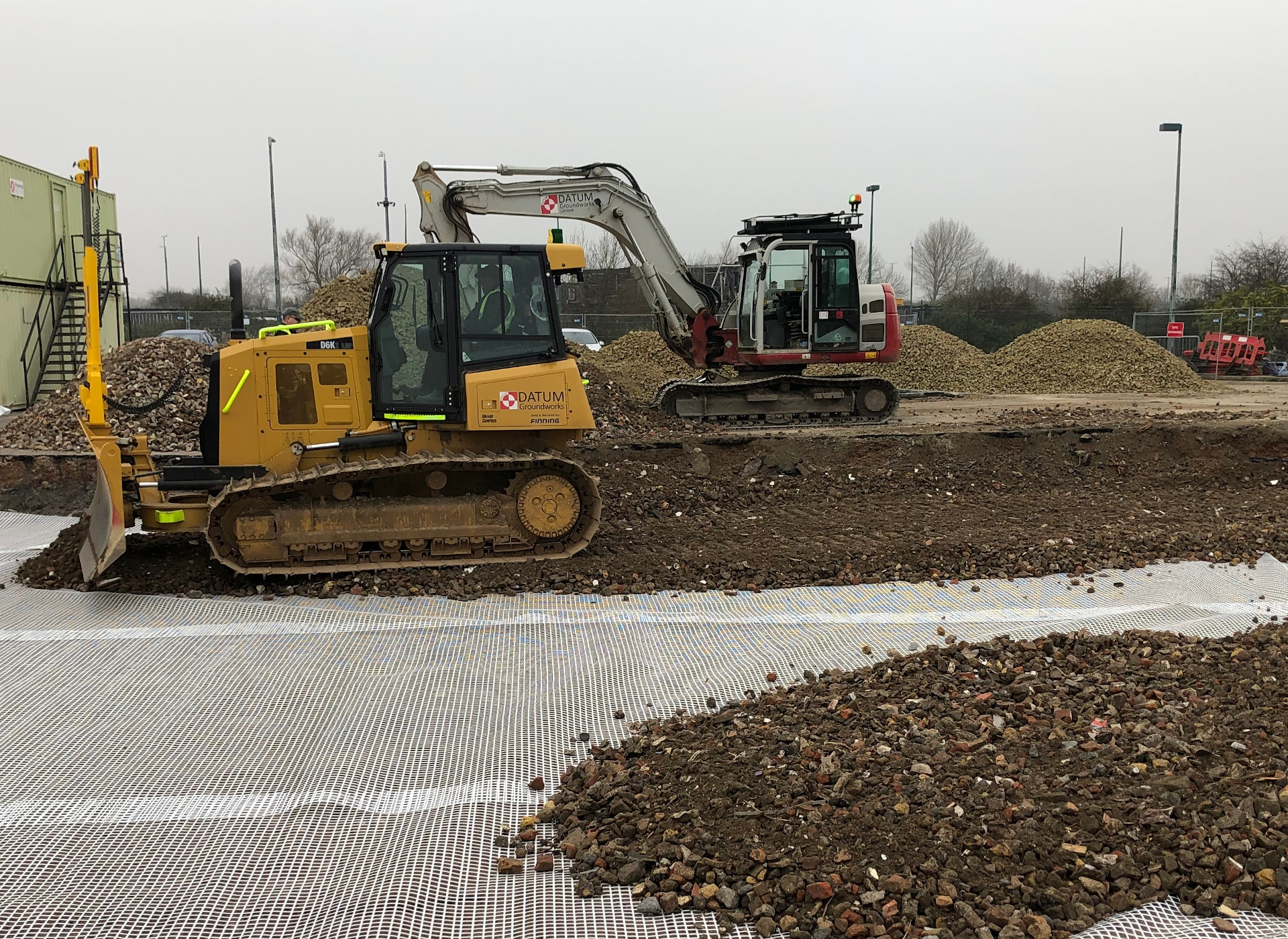 Site Setup Enabling Works - Datum Groundworks
